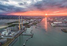 dublin-port-sunset