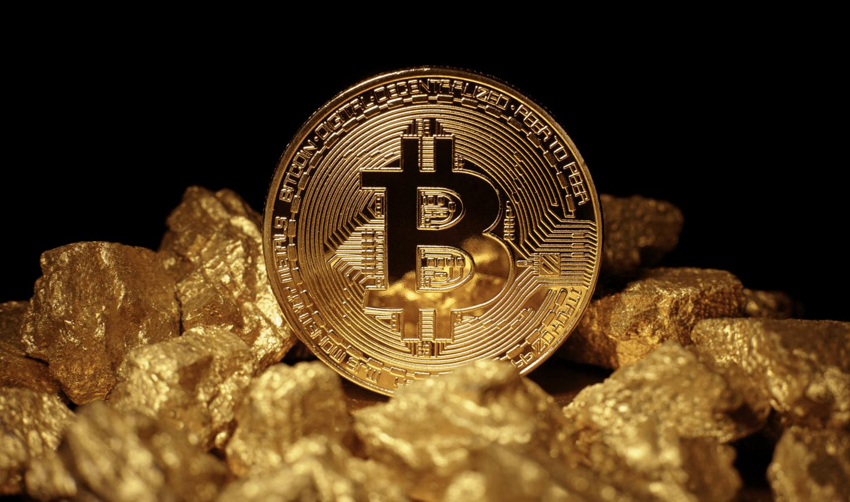 Trade bitcoin for gold