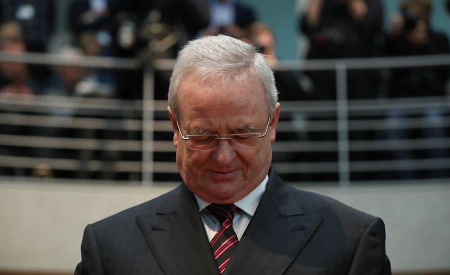 Martin Winterkorn, the former CEO of Volkswagen AG